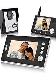 Недорогие -KONX Беспроводное Снято 7inch Переносной От одного до двух видеодомофонов