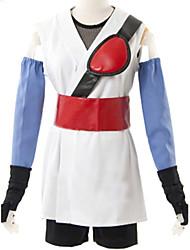 cheap -Inspired by Gintama Ayame Sarutobi Anime Cosplay Costumes Japanese Cosplay Suits Kimono Sleeveless Vest Sleeves Gloves For Women's / Kimono Coat / Shorts / Belt / Strap / Belt