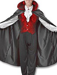 cheap -Vampire Cosplay Costume Men's Halloween Carnival New Year Festival / Holiday Polyester Men's Carnival Costumes / Top / Cloak