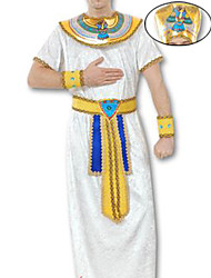 cheap -Ethnic / Religious Egyptian Costume Cosplay Costume Men's Halloween Carnival New Year Festival / Holiday Terylene Men's Carnival Costumes / Hat