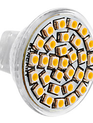 cheap -SENCART 1pc 3 W LED Spotlight 3500 lm MR11 30 LED Beads SMD 3528 Warm White 12 V