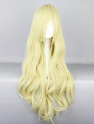 Недорогие -Платья Парики для Лолиты Классическая и традиционная Лолита Блондинка Classic Lolita Лолита Парики для Лолиты 32 дюймовый Косплэй парики Однотонный Парики Хэллоуин парики