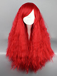 cheap -Fantasy Opera Red 70cm Punk Lolita Afro Wig