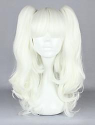 cheap -Cosplay Wigs Women's 18 inch Heat Resistant Fiber Silver Anime / Gothic Lolita Dress