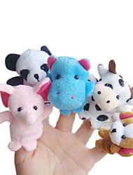 cheap -10 pcs Finger Puppets Novelty Plush Imaginative Play, Stocking, Great Birthday Gifts Party Favor Supplies Boys' Girls'