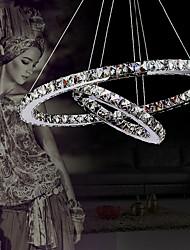 Недорогие -40 cm Хрусталь / LED Люстры и лампы / Подвесные лампы Металл Электропокрытие 110-120Вольт / 220-240Вольт