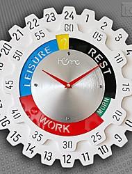 """Недорогие -24 """"часы в стиле шестеренки"""