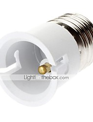 cheap -E27 to B22 B22 85-265 V Plastic Light Bulb Socket
