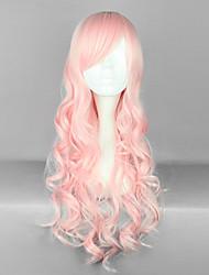 cheap -Lolita Wigs Sweet Lolita Dress Lolita Vacation Dress Lolita Wig 28 inch Cosplay Wigs Solid Colored Wig Halloween Wigs