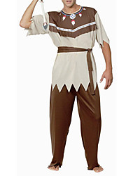 cheap -Movie / TV Theme Costumes Warrior Cosplay Costume Men's Halloween Carnival New Year Festival / Holiday Polyester Men's Carnival Costumes / Top / Headpiece