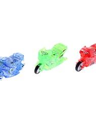 cheap -Diecast Vehicle Toy Motorcycle Mini Plastic 3 pcs Boys' Kid's Gift