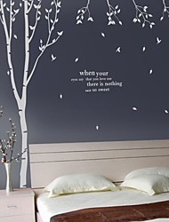cheap -Words & Quotes Wall Stickers House Rules Washable Wall Decals 1pc