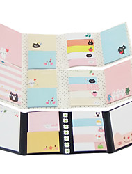 cheap -Cartoon Folding Self-Stick Note Set