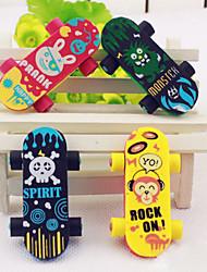 cheap -Skateboard Shaped Eraser(2 PCS)