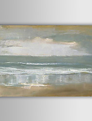 cheap -Hand-painted Abstract Landscape Oil Painting Stretched Canvas