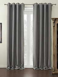cheap -Custom Made Blackout Blackout Curtains Drapes Two Panels For Living Room
