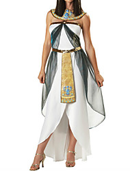 cheap -Cleopatra Dress Outfits Women's Halloween Carnival New Year Festival / Holiday Polyester Women's Carnival Costumes