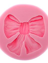 Недорогие -3d bowknot силиконовый печенье печенье хранения пресс-формы