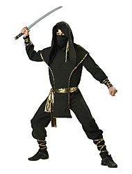 cheap -Deluxe Ninja Warrior Men Halloween Costumes