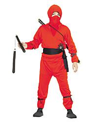 cheap -Swordsmen Red Kids Ninjia Costume