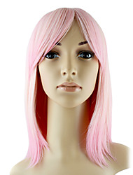 cheap -Synthetic Wig Straight Style Wig Synthetic Hair 12 inch Women's Wig