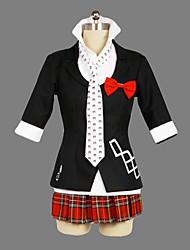 Недорогие -Вдохновлен Dangan Ronpa Junko Enoshima видео Игра Косплэй костюмы Косплей Костюмы / Школьная форма Пэчворк С короткими рукавами Пальто Рубашка Юбки костюмы