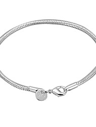 cheap -Bracelet Bangles Ladies Alloy Bracelet Jewelry Silver For Christmas Gifts Daily