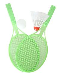 Недорогие -Мини Родитель-Ребенок бадминтона и теннисные ракетки 2in1 & Ball Set (случайный цвет)