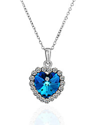 cheap -Cubic Zirconia Pendant Necklace Zircon Alloy Necklace Jewelry For Casual