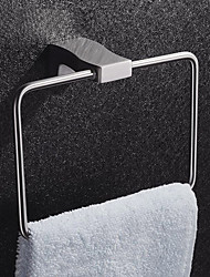 cheap -Contemporary Stainless Steel Wall-mounted Bathroom Towel Ring
