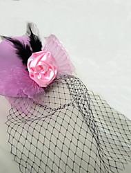 cheap -Women's / Flower Girl's Net Headpiece Fascinators