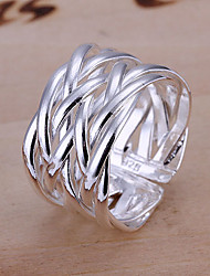 cheap -Women's Band Ring Alloy Open Daily Jewelry Adjustable