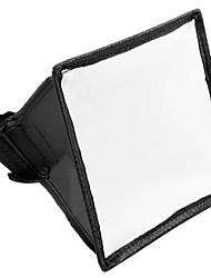 cheap -15x17cm Portable Flash Softbox Diffuser SpeedLight For Canon Nikon
