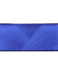 cheap -Women's Silk Evening Bag 7 Pieces Purse Set Silver / Blue / Ivory