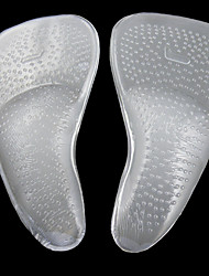 cheap -2pcs Silicon Insole & Inserts Women's All Seasons Casual White