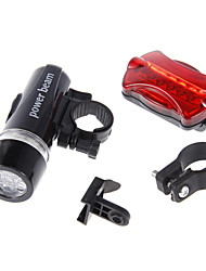 cheap -LED Bike Light LED Flashlights / Torch Front Bike Light Rear Bike Tail Light Mountain Bike MTB Bicycle Cycling Waterproof Safety Portable Alarm AAA 100 lm Camping / Hiking / Caving Cycling / Bike