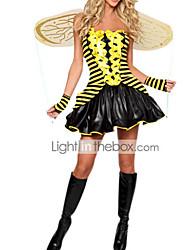 Недорогие -Sexy Girl Шмель Платье Хеллоуин костюм (3 шт)