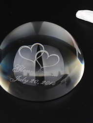 cheap -Crystal Crystal Items Bride Groom Wedding Anniversary Birthday Housewarming Congratulations Thank You