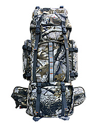 cheap -80 L Hiking Backpack Rucksack Military Tactical Backpack Waterproof Rain Waterproof Dust Proof Wear Resistance Outdoor Camping / Hiking Climbing Traveling Polyester