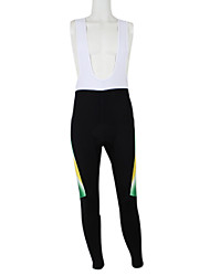 cheap -Malciklo Men's Women's Cycling Bib Tights Elastane Polyester Black / White Australia Champion National Flag Bike Tights Bottoms Mountain Bike MTB Road Bike Cycling Windproof Quick Dry Waterproof