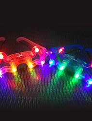 cheap -Shiny LED Glasses Night Market Toy(Random Color)