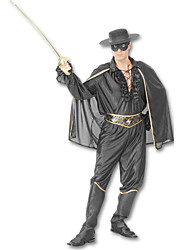 cheap -Warrior Cosplay Costume Men's Halloween Carnival Festival / Holiday Polyester Men's Carnival Costumes / Top / Cloak