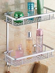 cheap -Bathroom Shelf Contemporary Aluminum 1 pc - Hotel bath