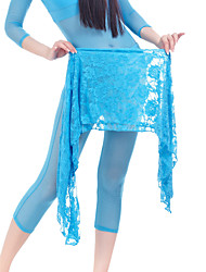 cheap -Belly Dance Hip Scarf Lace Women's Training Chiffon