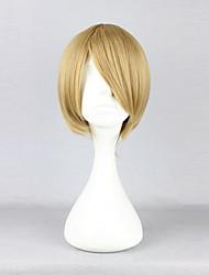 cheap -Hetalia Canada Matthew Williams Cosplay Wigs Men's 12 inch Heat Resistant Fiber Yellow Anime