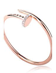 Недорогие -Жен. Браслет цельное кольцо Позолота Браслет Ювелирные изделия Назначение Для вечеринок