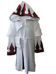 cheap -Inspired by Final Fantasy White Mage Video Game Cosplay Costumes Cosplay Suits Pattern Long Sleeve Coat Dress Belt Costumes
