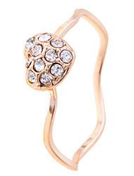 cheap -Statement Ring Golden Alloy M / Women's / Crystal