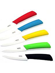 cheap -4inch Ceramic Knife Fruit Vegatable Kitchen Knives with Cover Protector