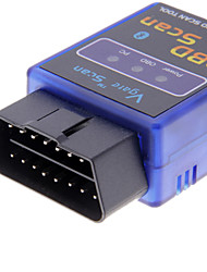 cheap -Mini ELM327 V1.5 Bluetooth ELM 327 OBDII OBD2 Protocols Auto Diagnostic Tool Scanner Interface Adapter